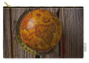 Old Globe On Old Books Carry-all Pouch
