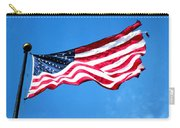 Old Glory - American Flag By Sharon Cummings Carry-all Pouch