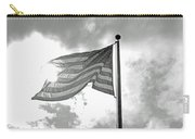 Old Glory Bw Carry-all Pouch