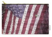 Old Glory   Peeling Paint Carry-all Pouch