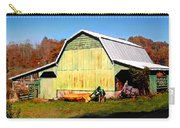 Old Green Barn South Of Rosman Carry-all Pouch