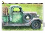 Old Green Pickup Truck Carry-all Pouch