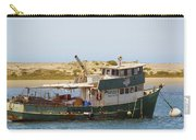 Old Green Scow Morro Bay Harbor Carry-all Pouch