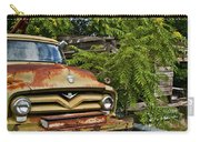 Old Green Truck Carry-all Pouch