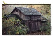 Old Grist Mill Carry-all Pouch by Thomas Woolworth