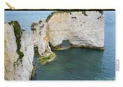 Old Harry Rocks On The Jurassic Coast In Dorset Carry-all Pouch