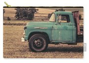 Old Hay Truck In The Field Carry-all Pouch