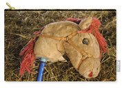 Old Hobby Horse Head Carry-all Pouch