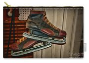 Old Hockey Skates Carry-all Pouch by Paul Ward