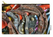 Old Horse Shoes Carry-all Pouch