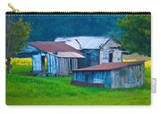 Old House And Harvest Time 2 Carry-all Pouch