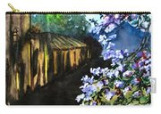 Old House And New Flowers Carry-all Pouch