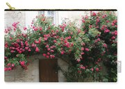 Old House Covered With Roses Carry-all Pouch