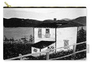 Old House In Black And White Carry-all Pouch