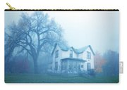 Old House In Fog Carry-all Pouch