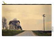 Old House On Country Road Carry-all Pouch