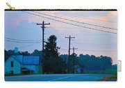 Old Houses And Sunset Carry-all Pouch