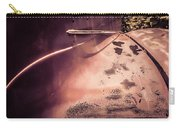 Old Hudson Car Carry-all Pouch by Edward Fielding
