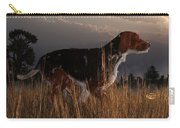 Old Hunting Dog Carry-all Pouch