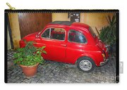 Old Italian Car Fiat 500  Carry-all Pouch