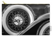 Old Jag In Black And White Carry-all Pouch