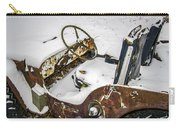 Old Jeep - New Snow Carry-all Pouch