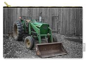 Old John Deere Tractor Carry-all Pouch by Edward Fielding