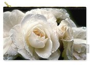 Old Lace Rose Bouquet Carry-all Pouch