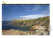 Old Lizard Head And Polpeor Cove Carry-all Pouch
