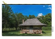 Old Log Cabin Three Carry-all Pouch
