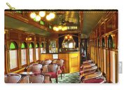 Old Lounge Car From Early Railroading Days Carry-all Pouch