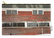 Old Maine Barn In Winter Carry-all Pouch