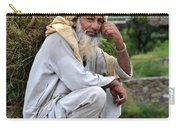 Old Man Carrying Fodder Swat Valley Kpk Pakistan Carry-all Pouch