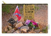 Old Man Clanton At Boot Hill Carry-all Pouch