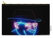 Old Man In Neon 2 Carry-all Pouch