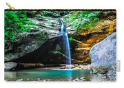 Old Mans Cave Lower Falls Carry-all Pouch