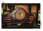 Old Mantelpiece Clock Carry-all Pouch