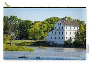 Old Mill On Grand River In Caledonia In Ontario Carry-all Pouch