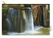 Old Mill Water Wheel Carry-all Pouch