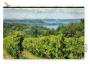 Old Mission Peninsula Vineyard Carry-all Pouch