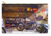 Old Motorcycle Shop 2 Carry-all Pouch