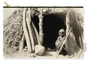 Old Navajo At His Hogan Carry-all Pouch
