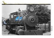 Old No. 7 Black White And Blue Carry-all Pouch