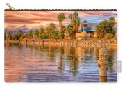 Old North Shore Yacht Club At Salton Sea Carry-all Pouch