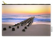Old Ocean Pier At Dawn Carry-all Pouch