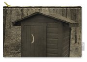 Old Outhouse Out Back Carry-all Pouch
