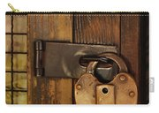 Old Padlock Carry-all Pouch