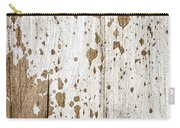 Old Painted Wood Abstract No.3 Carry-all Pouch