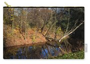 Old Park Canal In Autumn Carry-all Pouch