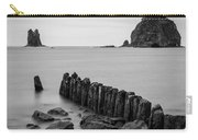 Old Pilings - La Push - Washington - July 2013 Carry-all Pouch